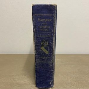 Shakespeare The Complete Works Book 1952